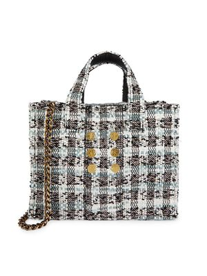 Kooreloo Mini Diana Pixel Tweed Tote