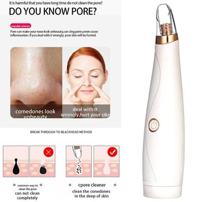 Electric Blackhead Remover Vacuum Suction Face Deep Cleansing Pore Cleaner Acne Pimple Removal Skin Care Machine Beauty Tool
