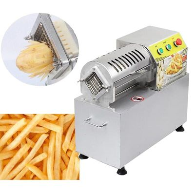 Commercial electric stainless steel cutting machine cutting potato cucumber radish machine cutting onion cutting fries machine