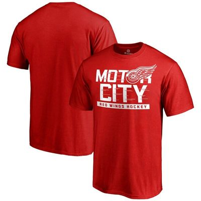 Detroit Red Wings Hometown Collection Local T-Shirt - Red