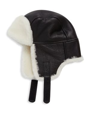Surell Shearling Trapper Hat