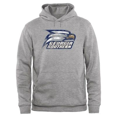 Georgia Southern Eagles Big & Tall Classic Primary Pullover Hoodie - Ash