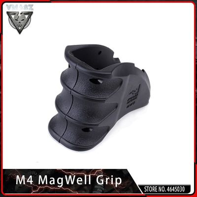 VMASZ AEG Tactical Water Gun Adjustable Magazine Well Grip Toy Gun Accessories for Airsoft M4 Gun Grip Outdoor Shooter Sports
