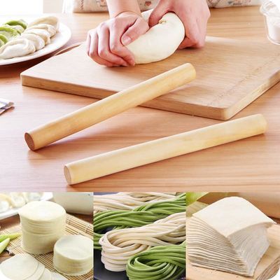 Solid Wood Rolling Pin Home Decoration Kitichen Cooking Tools Dough Roller Baking Accessories Roller Crafts Baking Tool Y23