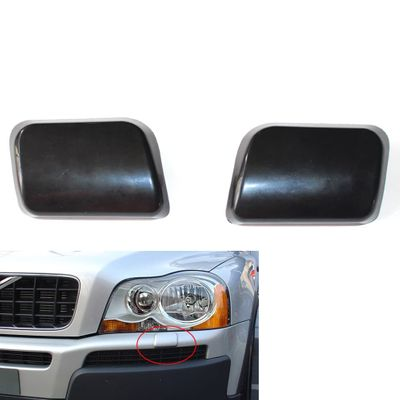 2pcs Car Headlight Washer Nozzle Cover Cap for Volvo XC90 2002-2006 30698209 30698208 Washer Nozzle Cap