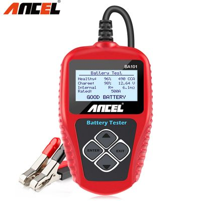 Ancel BA101 12V Car Battery Tester 100-2000CCA Digital Analyzer tester auto battery load tester for Car/Boat/Motorcycle PK KW600