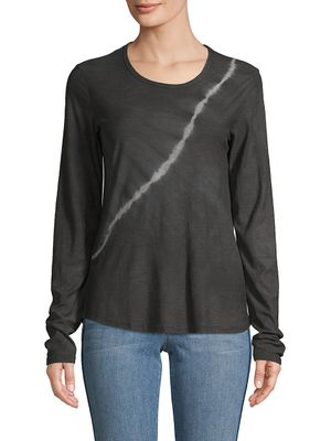 James Perse Tie-Dyed Cotton-Blend T-Shirt