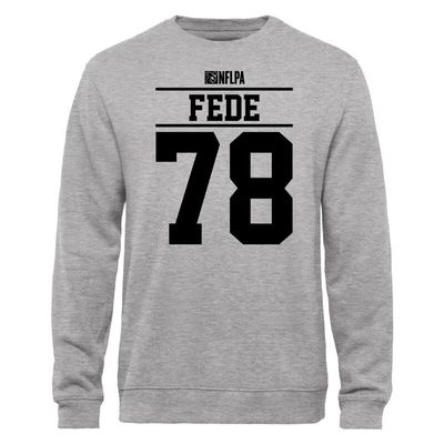 Terrence Fede NFLPA Player Issued Sweatshirt - Ash