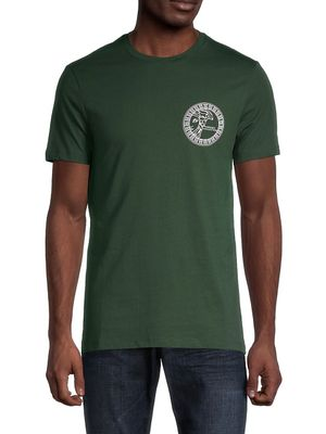 Versace Collection Graphic Cotton Tee