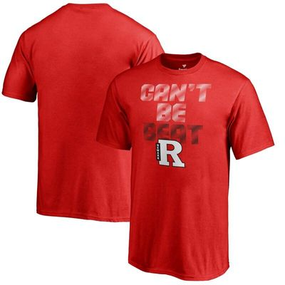 Rutgers Newark Scarlet Raiders Youth Can't Be Beat T-Shirt - Red