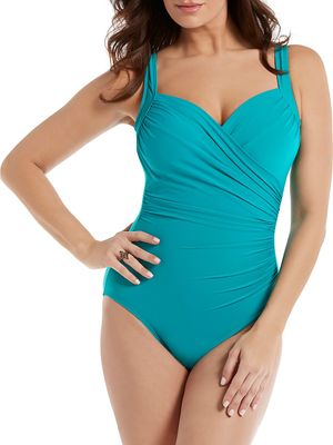 Miraclesuit Must Haves Sanibel One-Piece Swimsuit