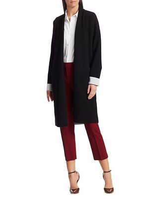Theory Double Faced Cardigan