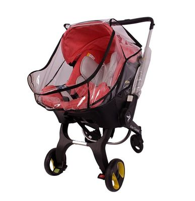Safety seat baby stroller foofoo multifunctional four in one child stroller custom rain cover windshield