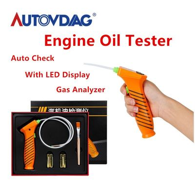 100% OBD 2 Engine Oil Tester car accessories Auto Check Oil Quality Detector With LED Display Gas Analyzer Car Testing tool