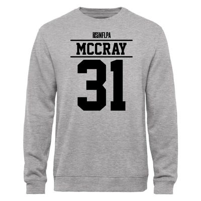L.J. McCray NFLPA Player Issued Sweatshirt - Ash