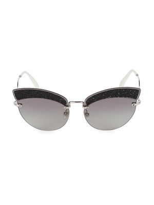 Miu Miu 65MM Cat Eye Sunglasses