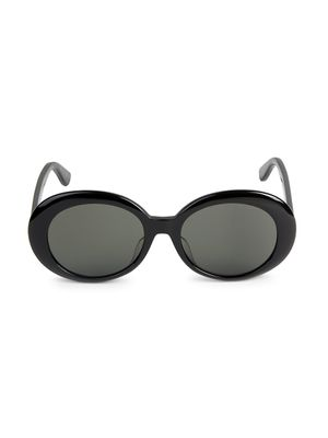 Saint Laurent Core 54MM Round Sunglasses