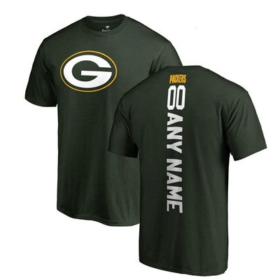 Green Bay Packers NFL Pro Line by Fanatics Branded Personalized Playmaker T-Shirt - Green