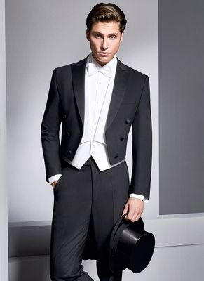 groom wear 2019 custom made mens suits dinner tuxedos back lomg tail 3 piece