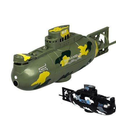 3311M Model 6CH High speed motor Remote control simulation submarine Electric Mini RC Submarine Kids Children Toy gift