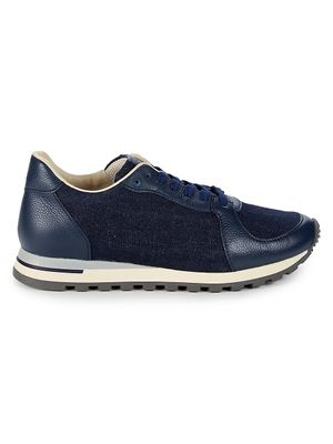 Canali Colorblock-Panel Sneakers