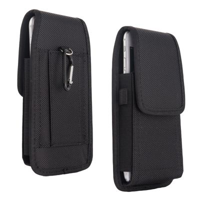 Mobile Phone Waist Bag 5.2-6.3inch for iphone for Samsung for xiaomi huawei Hook Loop Holster Pouch Belt Waist Bag Cover Case