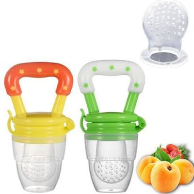Silicone Baby Pacifier Infant Nipple Soother Toddler Kids Pacifier Feeder For Fruits Food Pacifier Feeder Baby Feeding Pacifiers