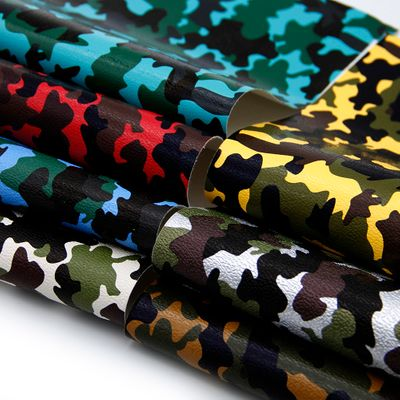 20*34cm Camo Bump Texture Faux Leather Fabric Sheets For DIY Handbag Shoes Making Handmade Crafts,1Yc6634