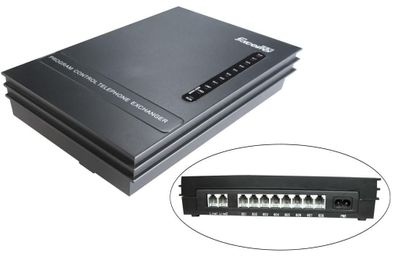Phone system/Telephone Switch System SV208(2Phone Lines x 8 Extensions PABX)-Hot sell