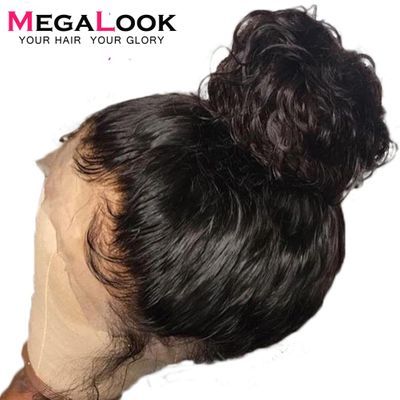360 Lace Frontal Human Hair Wigs Pre Plucked Glueless Malaysian Remy For Black Women Bleached Knots Water Wave Lace Front Wig