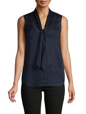 L'Agence Sleeveless Button-Front Top