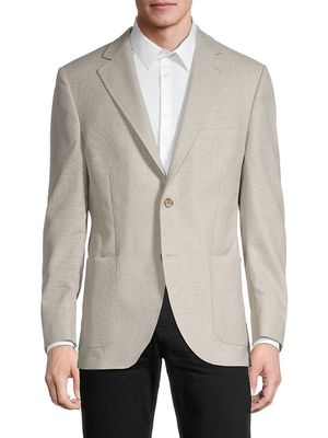 Peter Millar Notch Lapels Wool Blazer