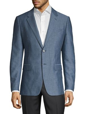Theory Chambers Regular-Fit Tailored Linen Sportcoat