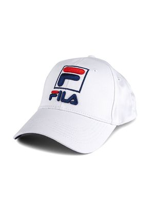 Fila Logo Cotton Twill Baseball Cap