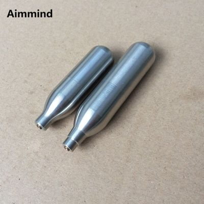 Rechargeable 12g 8g CO2 Cartridges Mini Reusable Refill Gas Cylinder Capsule Airsoft Shooting Airgun Hunting Paintball