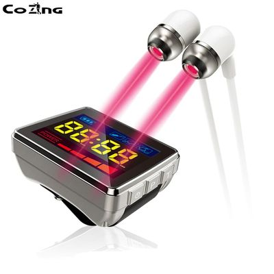 Tinnitus Therapy Laser Watch Ear Treatment Device