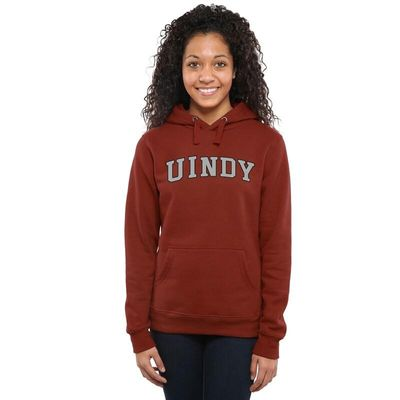 Indianapolis Greyhounds Women's Everyday Pullover Hoodie - Cardinal