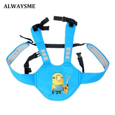 ALWAYSME Bicycle Bike Mountain Electric Vehicle Motor Scoot Baby Kids Children Back Safety Seats Belt Backpacks Carriers Harness