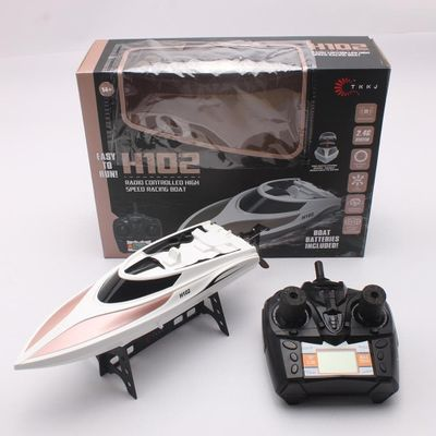 High Speed RC Boat H102 RC boat 26km/h RC Electric Racing Boat Racing Remote Control Boat gift For children Toys Kids Gift