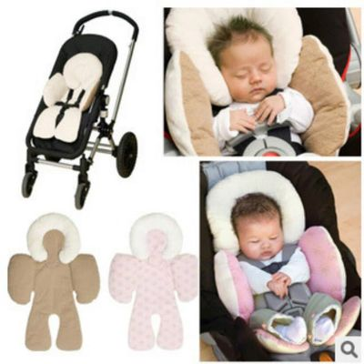 2019 Baby Strollers Body Support Pad Mat Compliance Baby Safety Seat Car Pram Pushchair Baby Head Cushion Dual-used Auto Enfant