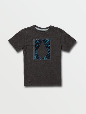 Little Boys Insizer Short Sleeve Tee - Heather Black