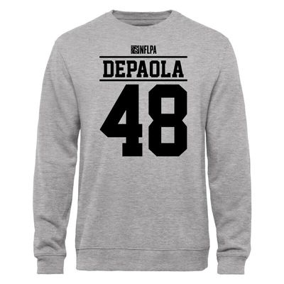 Andrew Depaola NFLPA Player Issued Sweatshirt - Ash