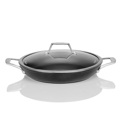 Onyx Collection - 12 Inch Everyday Pan with Cover