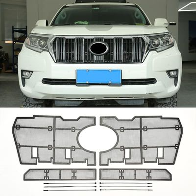 Car Front Grill Insect Net Insect Screening Mesh For Toyota Land Cruiser Prado FJ 150 2018 2019 2020