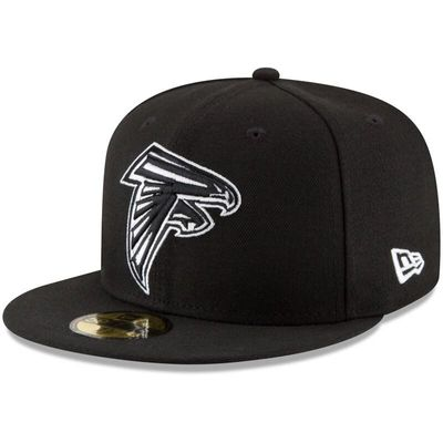 Atlanta Falcons New Era B-Dub 59FIFTY Fitted Hat - Black