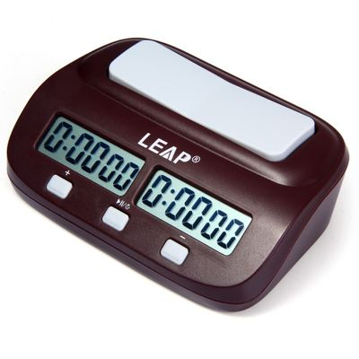 Professional Digital Chess Clock Electronic Board Game Count Up Down Timer for Chinese Chess, International Chess and I-GO