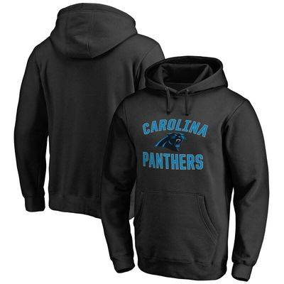 Carolina Panthers NFL Pro Line Big & Tall Victory Arch Pullover Hoodie - Black