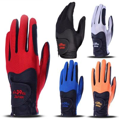 New Cooyute Fit 39 Golf Gloves Fit 39 EX  Golf Gloves Men's Left Hand Gloves  Gloves 5Pcs/lot Free Shipping mixing Color
