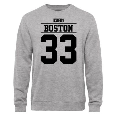 Jayestin Boston NFLPA Player Issued Sweatshirt - Ash