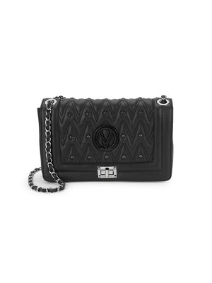 Valentino by Mario Valentino Alice D Studded Leather Crossbody Bag